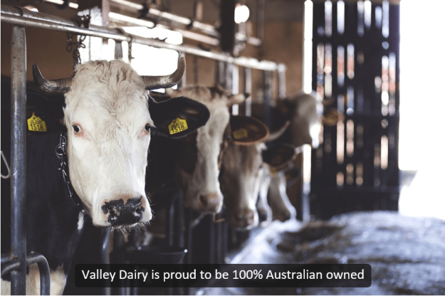 Universal Captions example - Valley Dairy