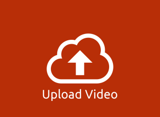 Upload Video, a cloud pictogram with an arrow pointing up